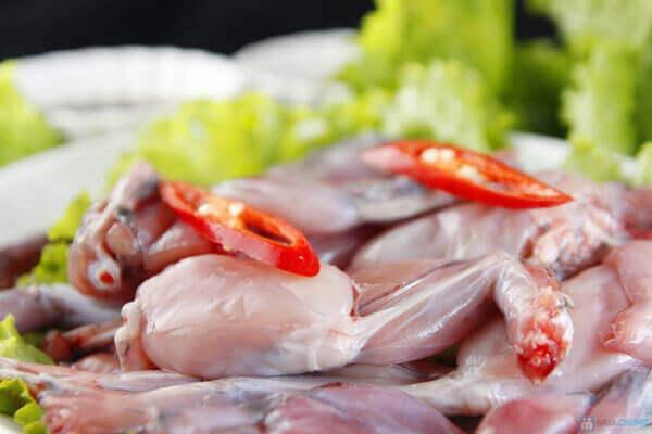 Mẹo sơ chế thịt ếch an toàn, không tanh