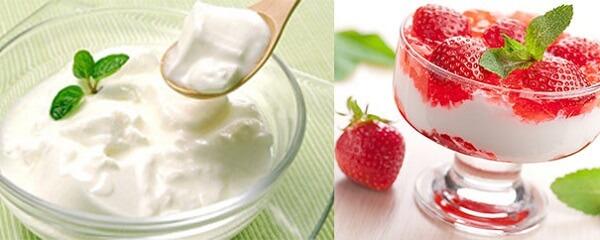 Sữa chua có thể kết hợp với sinh tố hoa quả