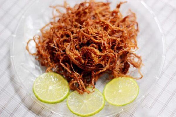 Tự làm thịt bò khô miếng, xé sợi bằng chảo hoặc lò vi sóng có màu đỏ đẹp