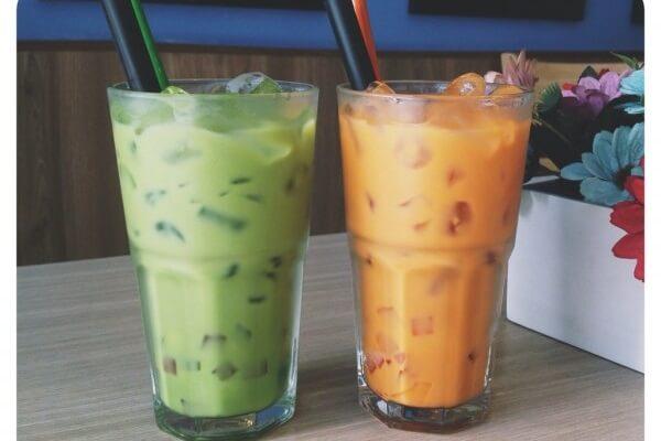 Cách làm trà sữa thái xanh truyền thống, cách pha trà sữa thái xanh siêu dễ