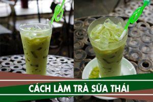 Cách làm trà sữa Thái, nguyên liệu và cách pha trà sữa Thái