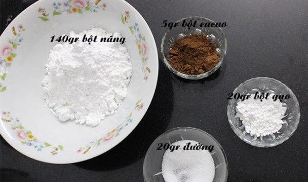 Nguyên liệu làm trân châu đen – cách làm trân châu đen