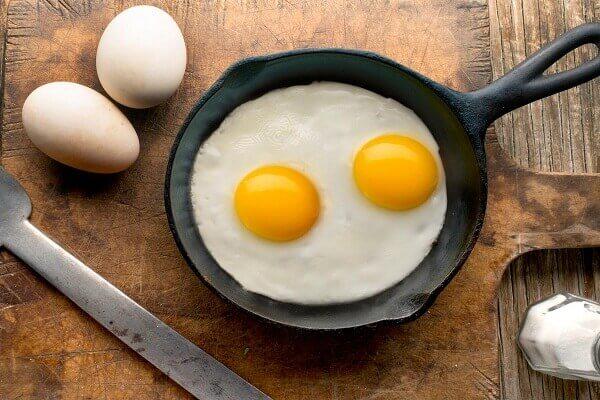 Egg whites have no cholesterol