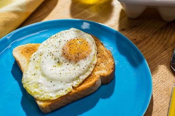 Should avoid eating foods that contain raw egg such as homemade mayonnaise or chocolate mousse.