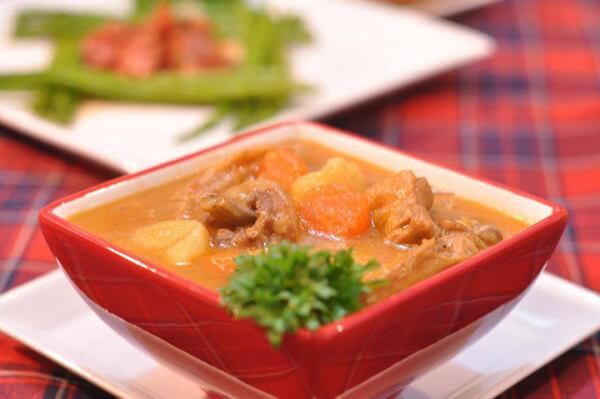 Món cà ri gà sau khi đã được hoàn thành – cách nấu cari gà ngon