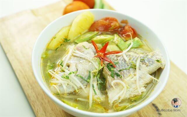 Hướng dẫn làm món canh chua cá diêu hồng thanh mát, bổ dưỡng