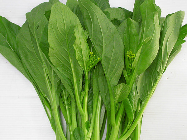 Rau cải xanh - chao thit bam
