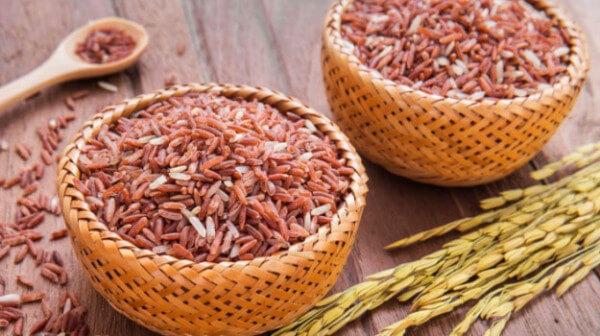 Gạo lứt: 150 gram