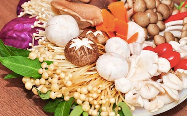 Các loại nấm dùng để ăn lẩu