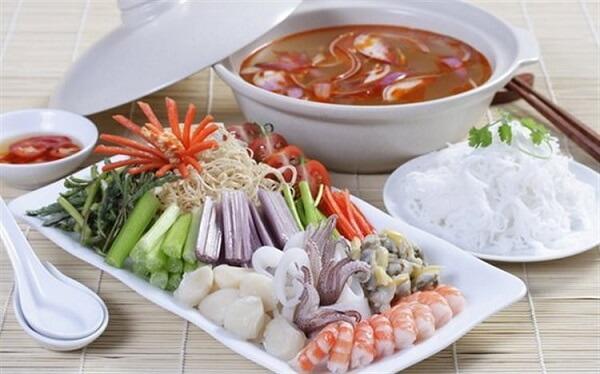 Cách nấu lẩu thái chua cay, cách nấu lẩu thái ngon