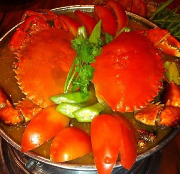 Cách nấu lẩu Thái Cua biển