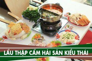 Cách nấu lẩu thập cẩm hải sản kiểu Thái ngon rẻ đơn giản