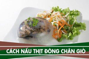 Cách nấu thịt đông chân giò theo kiểu truyền thống ngon ngày Tết