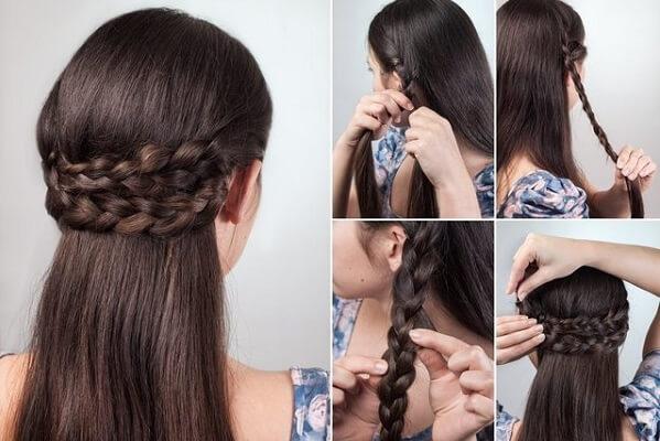 Tránh tết tóc, buộc tóc.