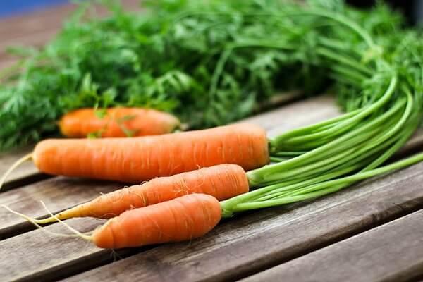 Cà rốt tráng đường ruột