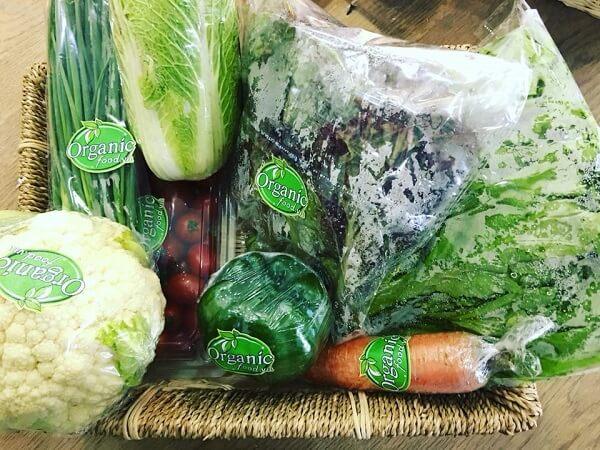 Cửa hàng rau sạch Organic Food