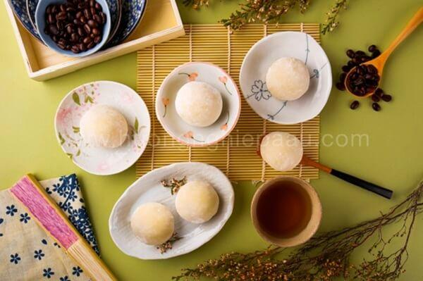 Bánh Mochi Nhật Bản là loại bánh truyền thống của Xứ sở Phù Tang
