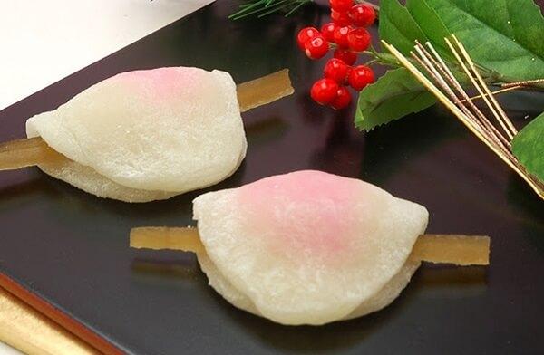 Bánh Mochi hình cánh hoa xinh xắn
