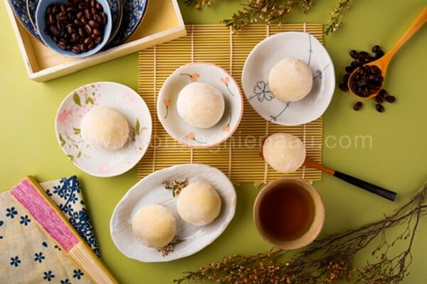 Mochi nhân kem mát lạnh được rất nhiều người yêu thích