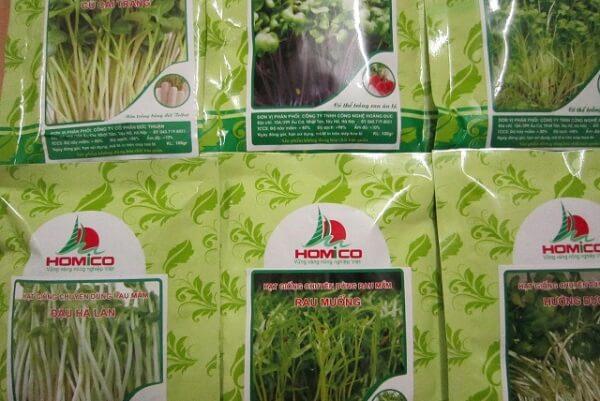 Cửa hàng Hạt giống rau sạch Minh Châu