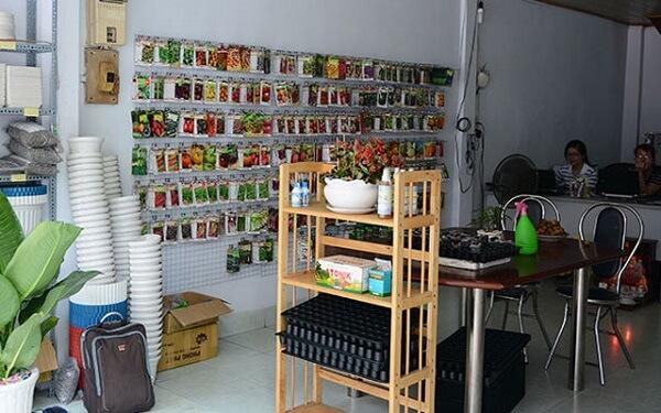 Cửa hàng Hạt giống rau mầm sạch F1508.