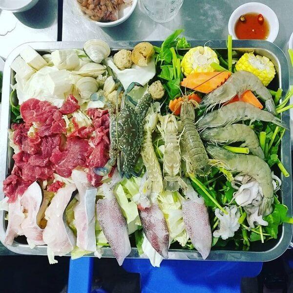 Lẩu Khay Hải Sản - Quán La Cà.