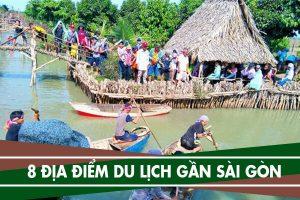 Địa điểm du lịch gần Sài Gòn, phượt khu du lịch sinh thái gần Tphcm