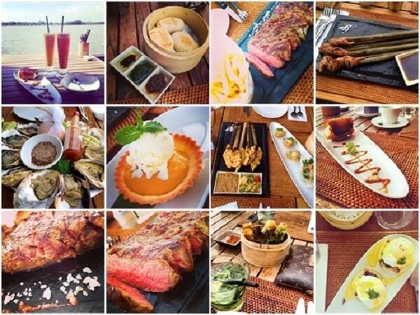 Phong cách chế biến món ăn ở đây là phong cách Pan – Asia phức tạp