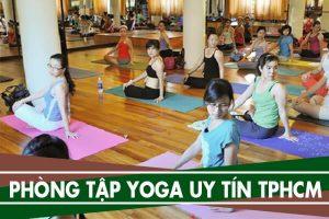 Địa điểm học Yoga ở đâu Tphcm - Trung tâm, phòng tập Yoga uy tín