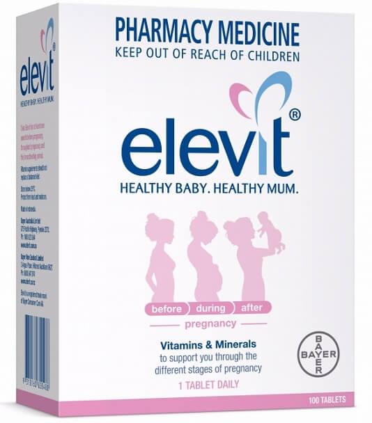 Uống thuốc Elevit trước mang thai là việc nên làm