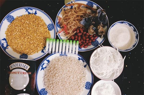 Những nguyên liệu nấu chè bà ba cần chuẩn bị - cách nấu chè bà ba