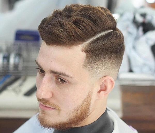 Kiểu tóc undercut vuốt lệch 2