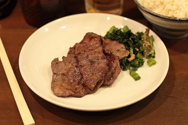 Lưỡi bò Gyutan kiểu Nhật Bản