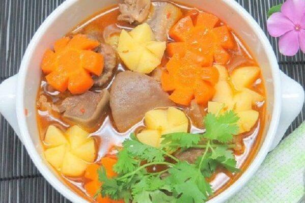 Món Ragu lưỡi bò ngon mê ly