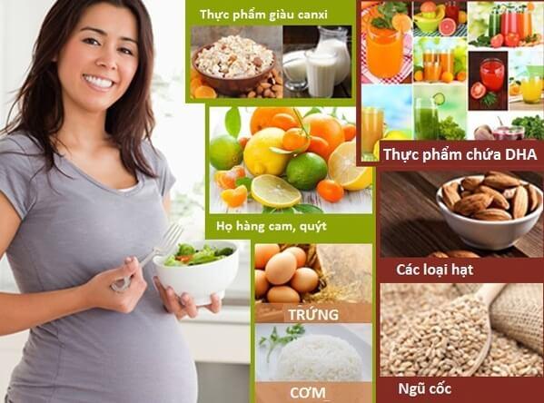 Các mẹ bầu nên theo chế độ ăn uống, dinh dưỡng như thế nào?