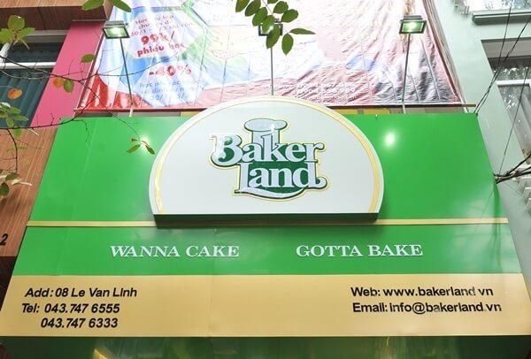 Hệ thống cửa hàng Baker Land.