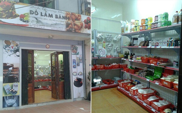 Quang Anh shop.