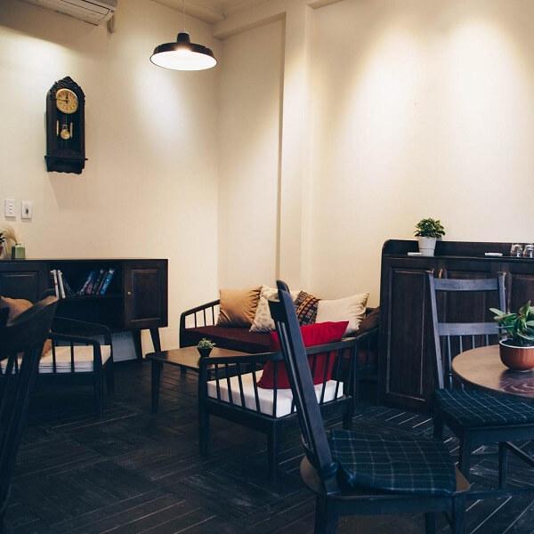 Lau Café có diện tích siêu siêu rộng.