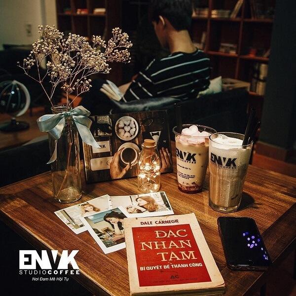 Quán ENVK Coffee.