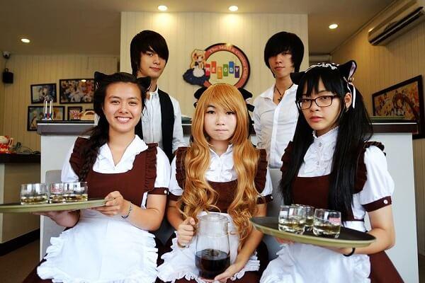 Quán Melody – Cafe Maid.