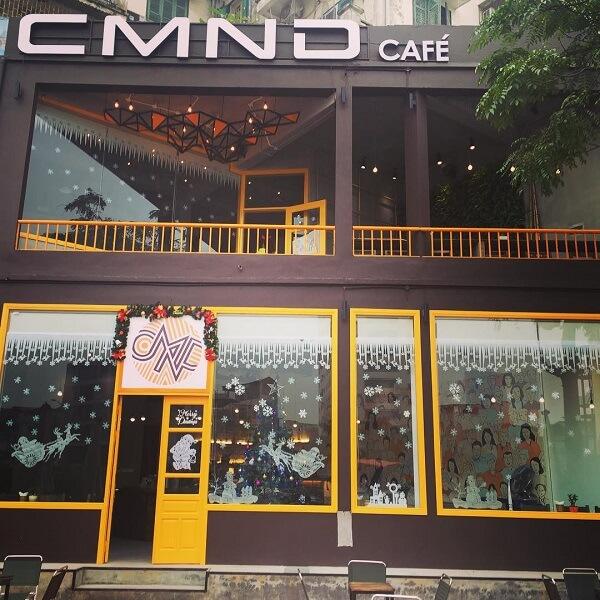 Quán CMND Café.