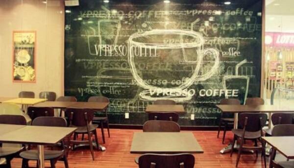 Vpresso coffee có một kiểu phong cách riêng.