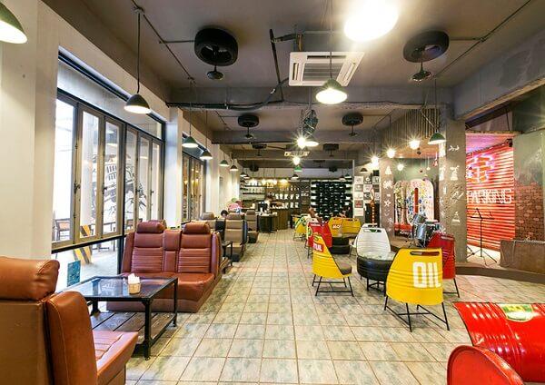 Tại Garafun café, bạn có thể tìm riêng cho mình một góc nhỏ yên tĩnh