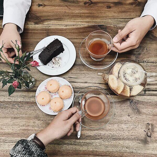 Quán Cup of Tea Café & Bistro.