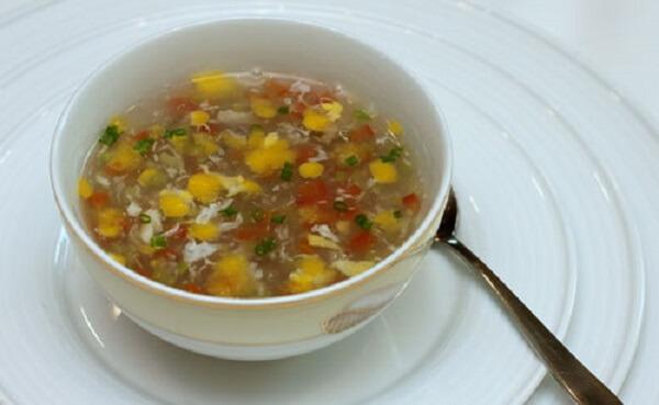Cháo thịt bò nấu súp