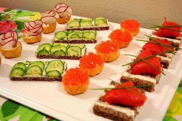 Những món khai vị giúp ngon miệng trong tiệc sinh nhật