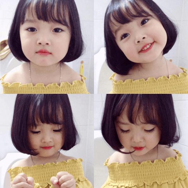 Các kiểu tóc ngắn dành cho bé gái6