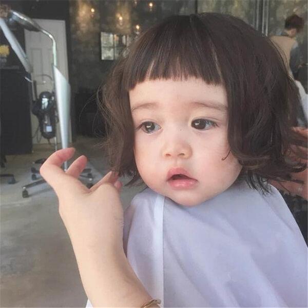 Các kiểu tóc ngắn dành cho bé gái