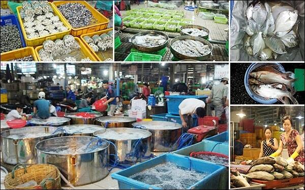 Đây có thể xem là nơi cung cấp hải sản lớn và rẻ nhất tại Sài Gòn.