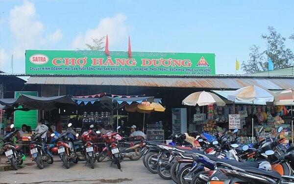 Chợ Hàng Dương - Cần Giờ